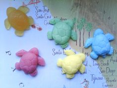 Sea Turtle Mini Soap Favor Party Gift x1. $1.00, via Etsy.