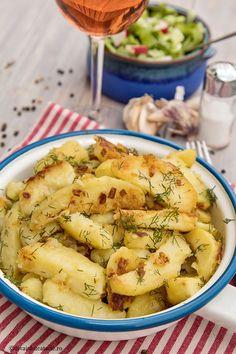 Vegan Foods, Vegan Recipes, Potato Salad, Good Food, Food And Drink, Potatoes, Cooking, Ethnic Recipes, Mariana