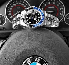 I really like the jubilee on the Rolex GMT-Master II 116710BLNR (Batman) Got the picture from @loevhagen on Instagram