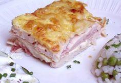 Rakott csirkemell 4. - tejszínes-sonkás Romanian Desserts, Sugar Free Diet, Hungarian Recipes, Hungarian Food, Cook At Home, Winter Food, Main Meals, Food Hacks, Food To Make