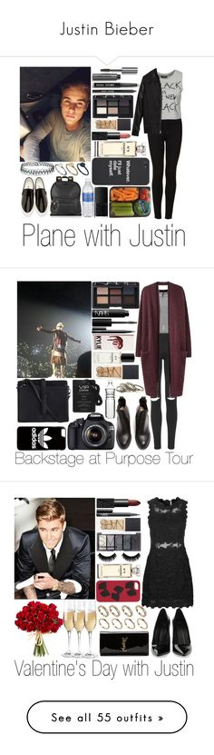 """Justin Bieber"" by sassy-queen01 ❤ liked on Polyvore featuring JustinBieber, outfits, Justin Bieber, Topshop, Sally&Circle, Junya Watanabe, NARS Cosmetics, Bobbi Brown Cosmetics, Chanel and Sophie Hulme"