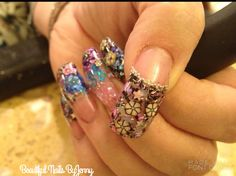 Ed hardy nail by maxzero nail art gallery nailartgallery nail art from the nails magazine nail art gallery acrylic trendy prinsesfo Choice Image
