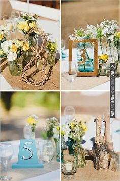 different table number ideas | CHECK OUT MORE IDEAS AT WEDDINGPINS.NET | #wedding