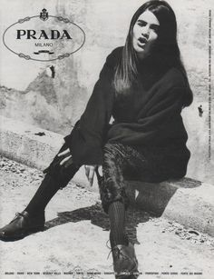 Helena Christensen - Prada 1990