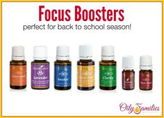 Focus Boosting Essential Oils | TheMarathonMom.com