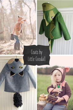 Animal Coats by Little Goodall