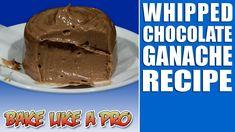 Whipped Chocolate Ganache Recipe / Egg-FREE Chocolate mousse recipe