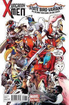 Uncanny X-Men #1 (state bird variant)