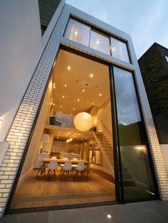 Gerenoveerd huis in Londen met moderne uitbouw