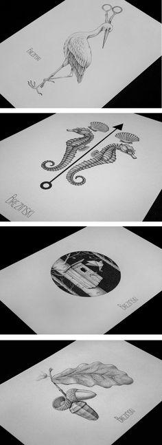 tattoo designs 2014 on Behance
