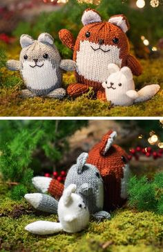 ee13c9a454c08b 1601 Best Fox and Animal Knits images in 2019 | Crochet yarn, Thread ...