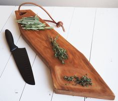 Solid Cherry Wood Cutting Board Serving Tray - Free Shipping! by DeadTreeWorkshop on Etsy https://www.etsy.com/listing/578460709/solid-cherry-wood-cutting-board-serving
