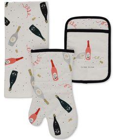 kate spade new york 3-Pc. Celebration Kitchen Set