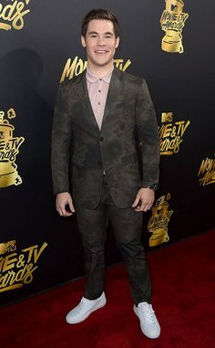 Adam Devine from MTV Movie & TV Awards 2017: Red Carpet Arrivals  The man of the hour has arrived! Your 2017 MTV Awards host looks dapper as ever.