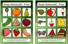Drachenstübchen: Bingo Raupe Nimmersatt