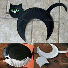 DIY Paper plate crafts for kids is so much fun! I am quite sure you do not know … DIY Paper plate crafts for kids is so much fun! You will love the trendy topics we have prepared for … Image Halloween, Halloween Dance, Halloween Crafts For Kids, Halloween Cat, Fall Crafts, Halloween Decorations, Cheap Halloween, Easy Decorations, Paper Plate Crafts For Kids