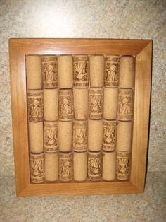 Hand crafted cork trivet