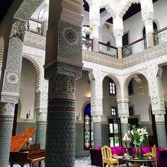 #Morocco interiors: