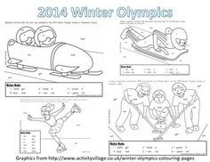 Winter Olympics Worksheets | Winter Olympic Sight Word Roll and Color-Kindergarten Olympic Idea, Olympic Sports, Olympic Games, Winter Games, Winter Fun, Winter Sports, Kids Olympics, Winter Olympics, Olympic Crafts