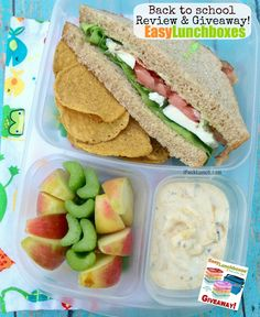 Caprese blt and #easylunchboxes giveaway