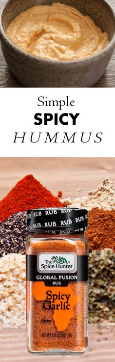 Our simple spicy hummus is a refreshing summer appetizer and great spread for vegetarian sandwiches. https://www.spicehunter.com/recipes/simple-spicy-hummus/