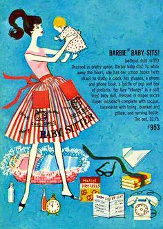 Barbie Fashions 1961 Mattel Fashion Catalog
