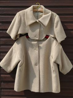 Marilla Walker. Nice jacket from a very oversized coat. No tutorial but good explanations.