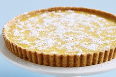 Lemon Tart    Use a whole packet of shortbread biscuits and 120g butter for base then use 3 eggs & 1 extra egg yolk and cook the curd in the microwave.