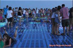 Saludo al Sol y Órgano de Mar de Zadar (Croacia)