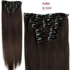 GET $50 NOW   Join RoseGal: Get YOUR $50 NOW!http://m.rosegal.com/hair-extension/trendy-long-straight-clip-in-heat-resistant-synthetic-hair-extension-suit-for-women-474451.html?seid=8022775rg474451