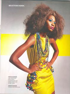 Ghana Rising: Fashion: Christie Brown's latest collection's fierce….