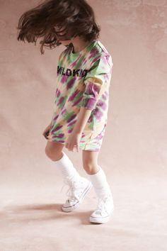 "Vicky long t-shirt tie dye Wildkind Kids ""Hippie Ever After"". One Drop, Ever After, Cute Kids, Work Wear, High Fashion, Tie Dye, Unisex, T Shirt, Style"
