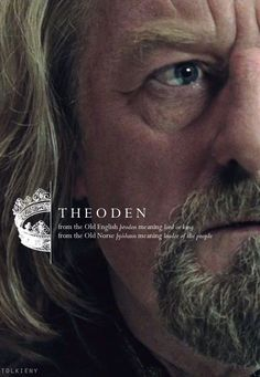 Theoden .. !! King of Rohan