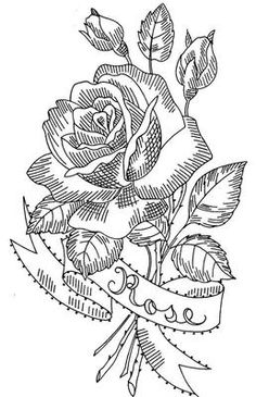 Design 586 Lovely Flowers. A 1960s hand embroidery pattern.