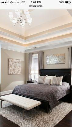 Gray Master Bedroom Paint Color Ideas   Master bedroom   Pinterest ...