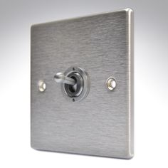 Hartland Stainless Steel 1 Gang Toggle Switch