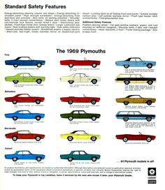1969 Plymouths