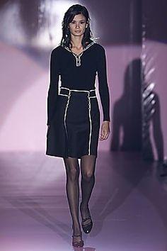 Lawrence Steele Fall 2001 Ready-to-Wear Fashion Show - Lawrence Steele, Caroline Ribeiro