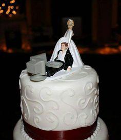 Gâteau de mariage pour Geek - SlyGeek