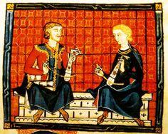 """RABEL  Cantiga 110 El rabel es un cordófono frotado con arco. Es un instrumento pastoril que consta de una, dos o tres cuerdas y se hace sonar con un arco de crines de caballo al cual se le ha aplicado resina. La caja de resonancia es de madera y la tapa armónica puede ser de madera, hojalata o piel tensa.   """"Instrumentos de arco musulmanos y cristianos, las influencias réciprocas"""".Christian Rault Luthier"""