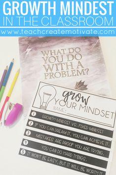 Teaching growth mind