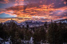 Rocky Mountain Sunset Dillon Colorado [5472x3648]