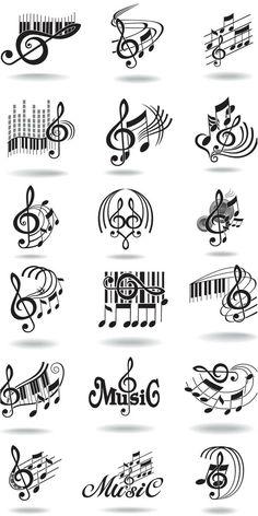 Music notation graphics