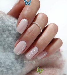 nailart 100 Trendy Stunning Manicure Ideas For Short Acrylic Nails Design - Page 33 of 101   - Nails Art Ideas    #Acrylic #Art #Design #Ideas #manicure #Nails #Page #Short #Stunning #Trendy<br> Square Nail Designs, Cute Nail Art Designs, Short Nail Designs, Nail Polish Designs, Acrylic Nail Designs, Acrylic Nails, Nails Design, Acrylic Art, Coffin Nails
