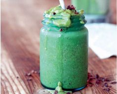 """""""Chocolate Mint"""" Green Smoothie!"""