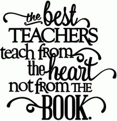 Silhouette Online Store: best teachers teach from the heart - vinyl phrase