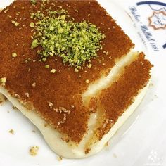 Who's craving some delicious Knefe? Lebanese Recipes, Sweet Desserts, Food Dishes, Cravings, Sweets, Foods, Fruit, Ethnic Recipes, Travel