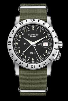 869c0fb50cbd reloj piloto Airman DC-4 de GLYCINE Sport Watches