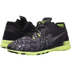 Nike Free 5.0 TR Fit 5 PRT (Black Volt Black) Women s Cross f3bfdf6e7d