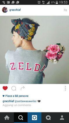 Zelda Was a writer wears Grazia Ferrari